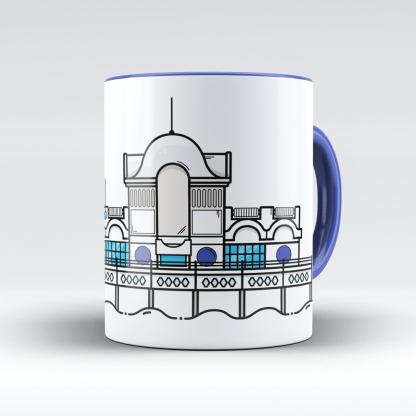South Parade Pier Portsmouth Mug designed by Christine Wilde